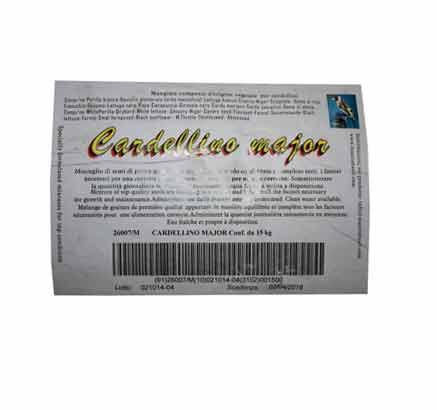 Cardellino Major 15 kg